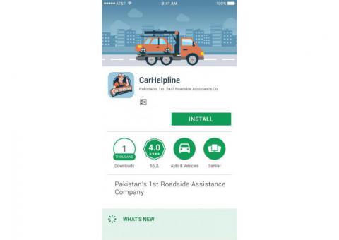 CarHelpline Pakistan's 1st 24/7 Roadside Assistance Platform