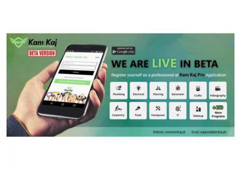 Kam Kaj: Handyman Service Provider in Pakistan